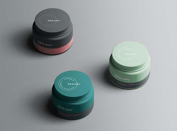 Cosmetic Jar Mockups