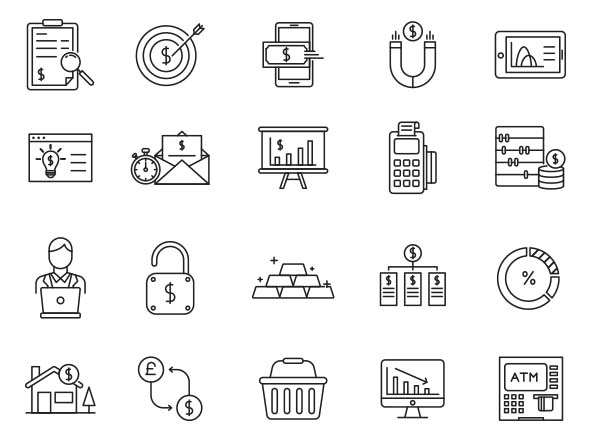 Finance Vector Icons Part 02