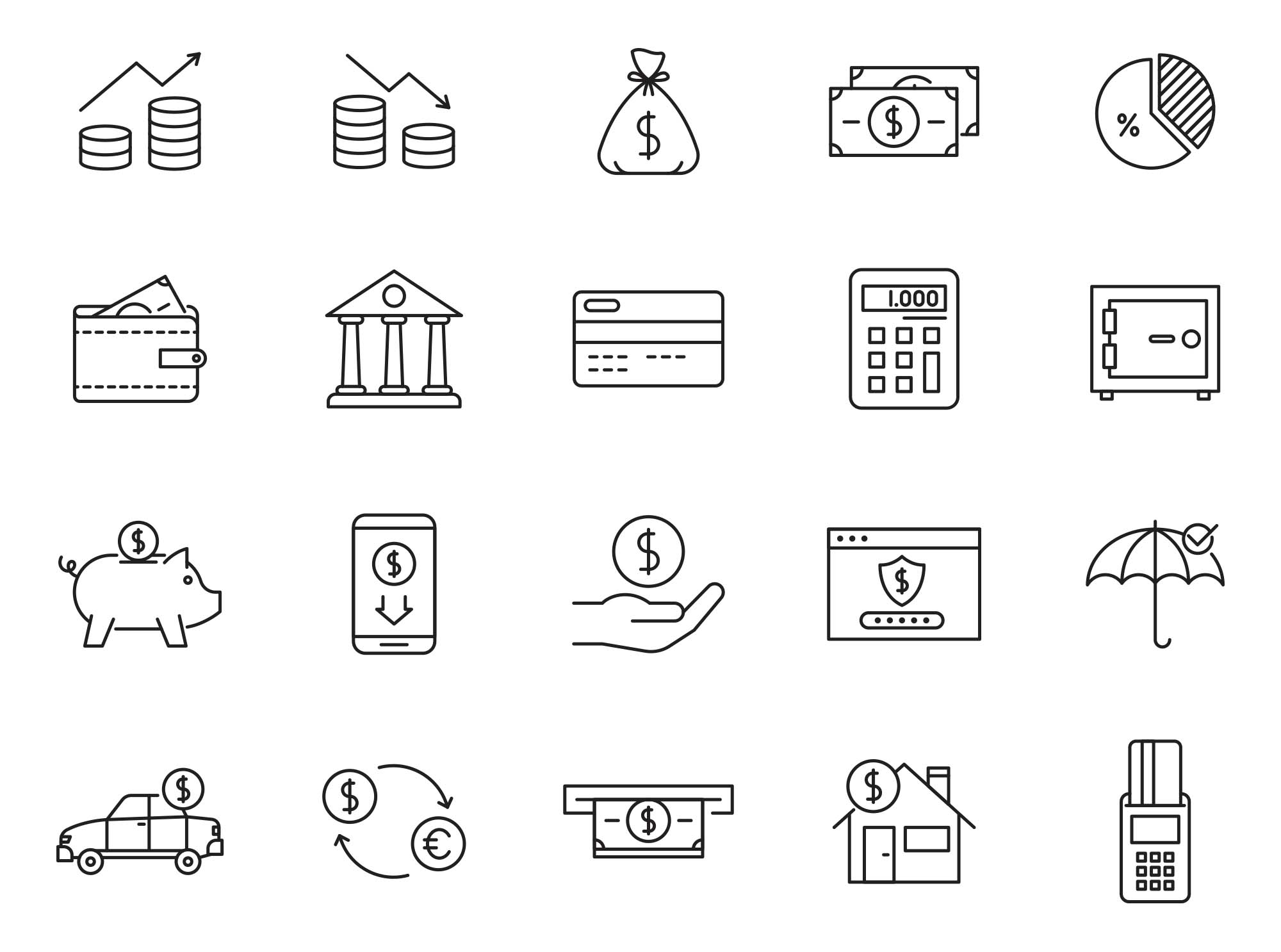 Finance Vector Icons Part 04