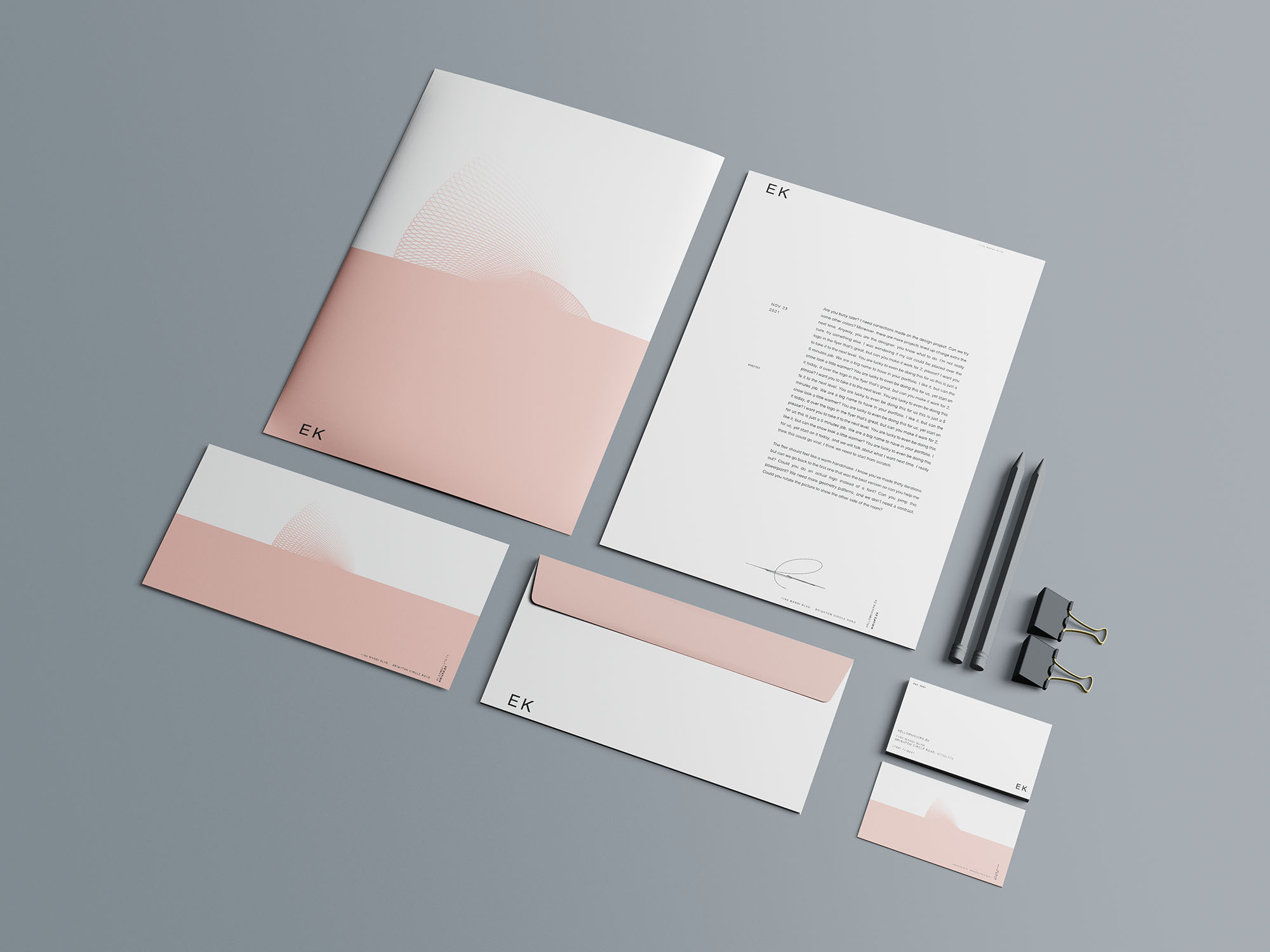 Stationery Branding Mockup 02
