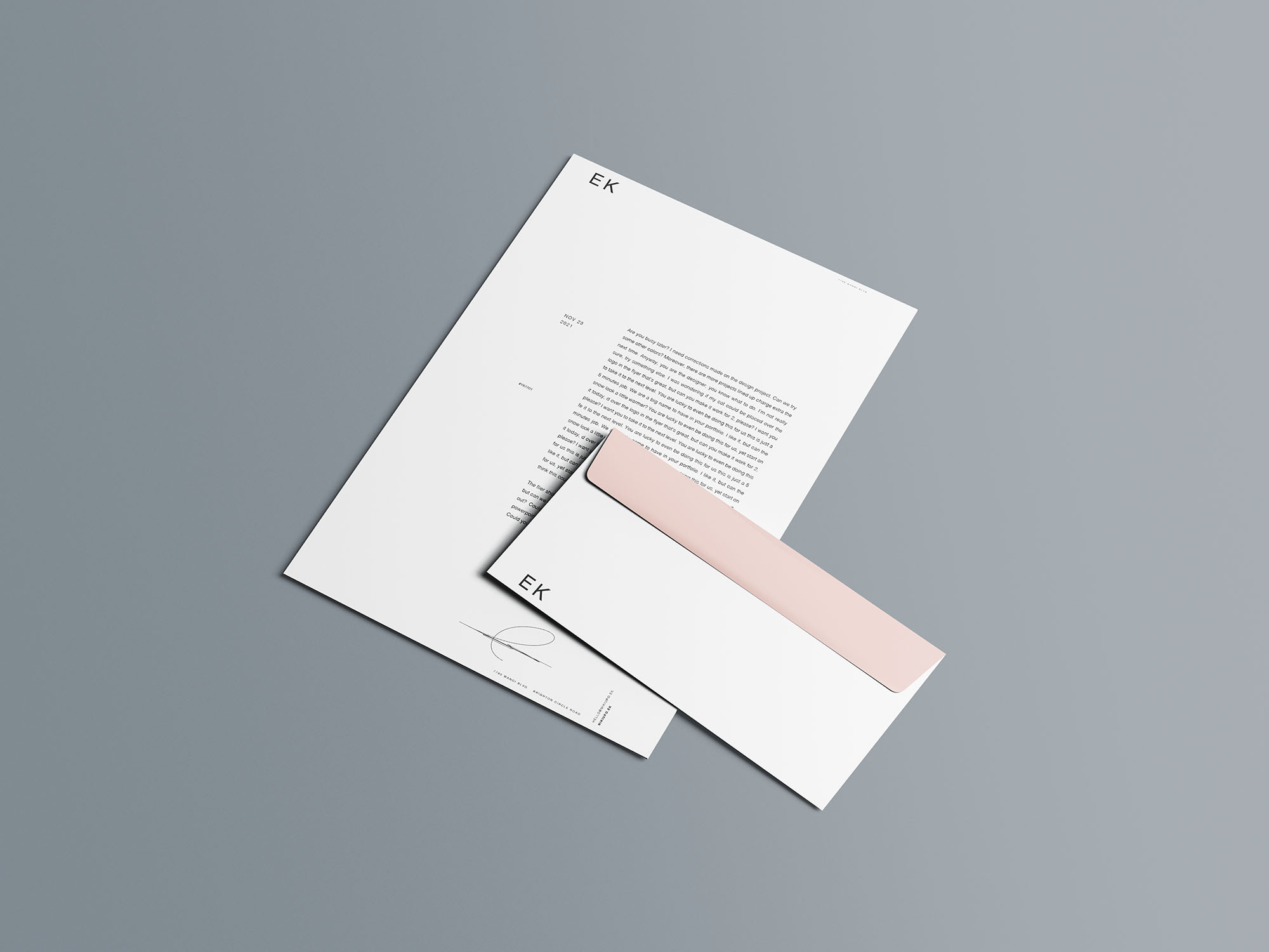 Stationery Branding Mockup 10
