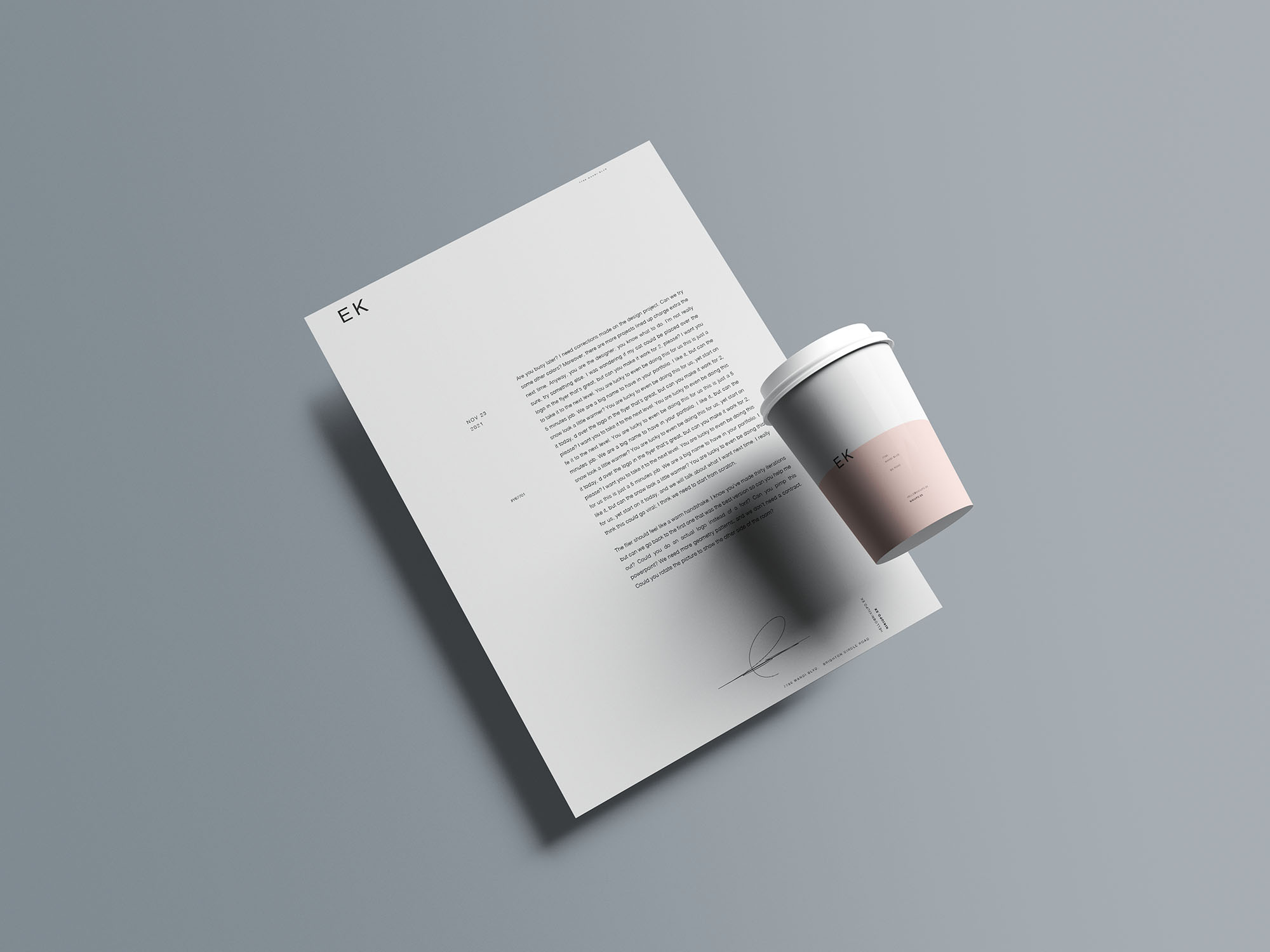 Stationery Branding Mockup 15