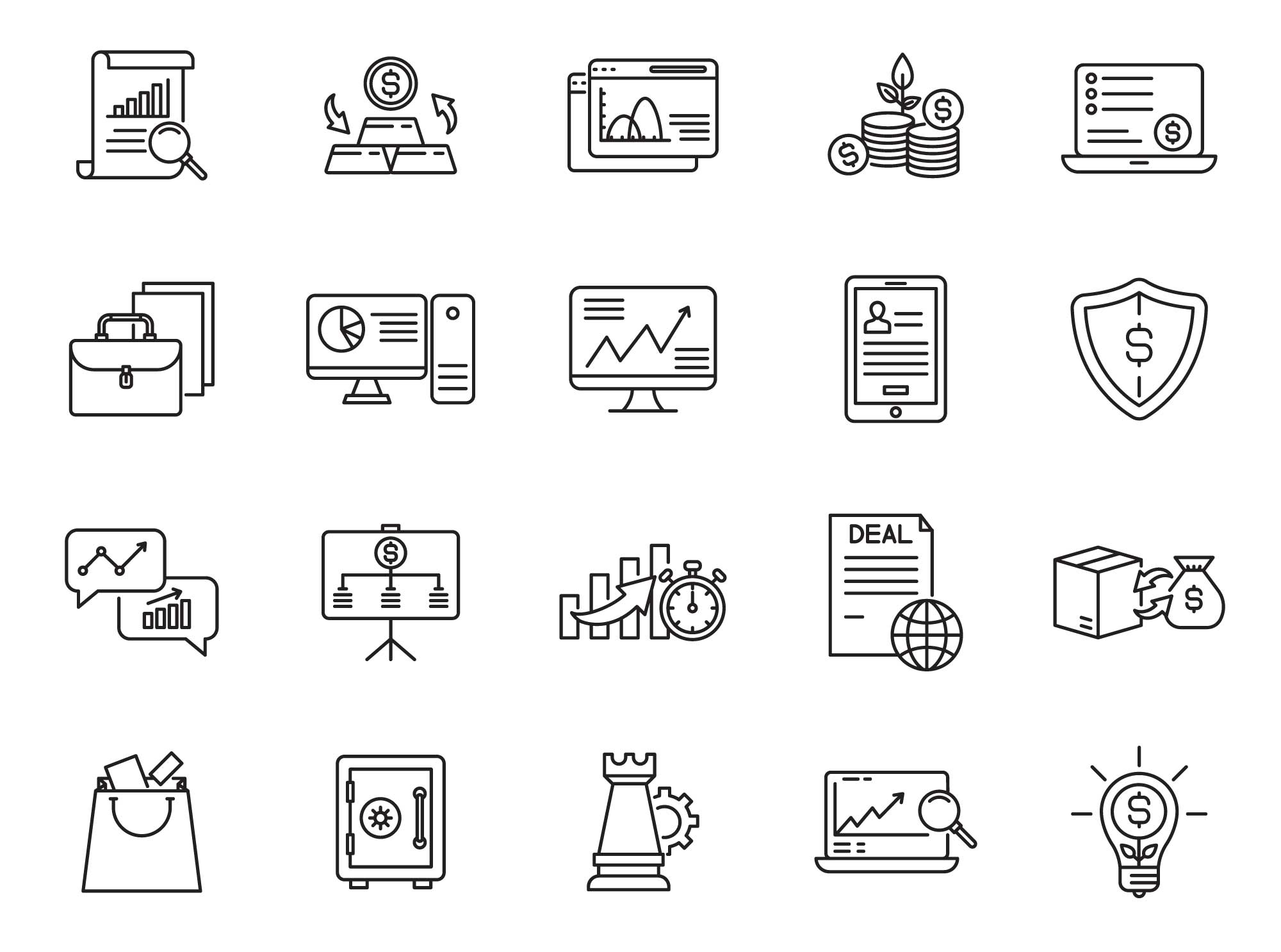 Trade Vector Icons Part 02