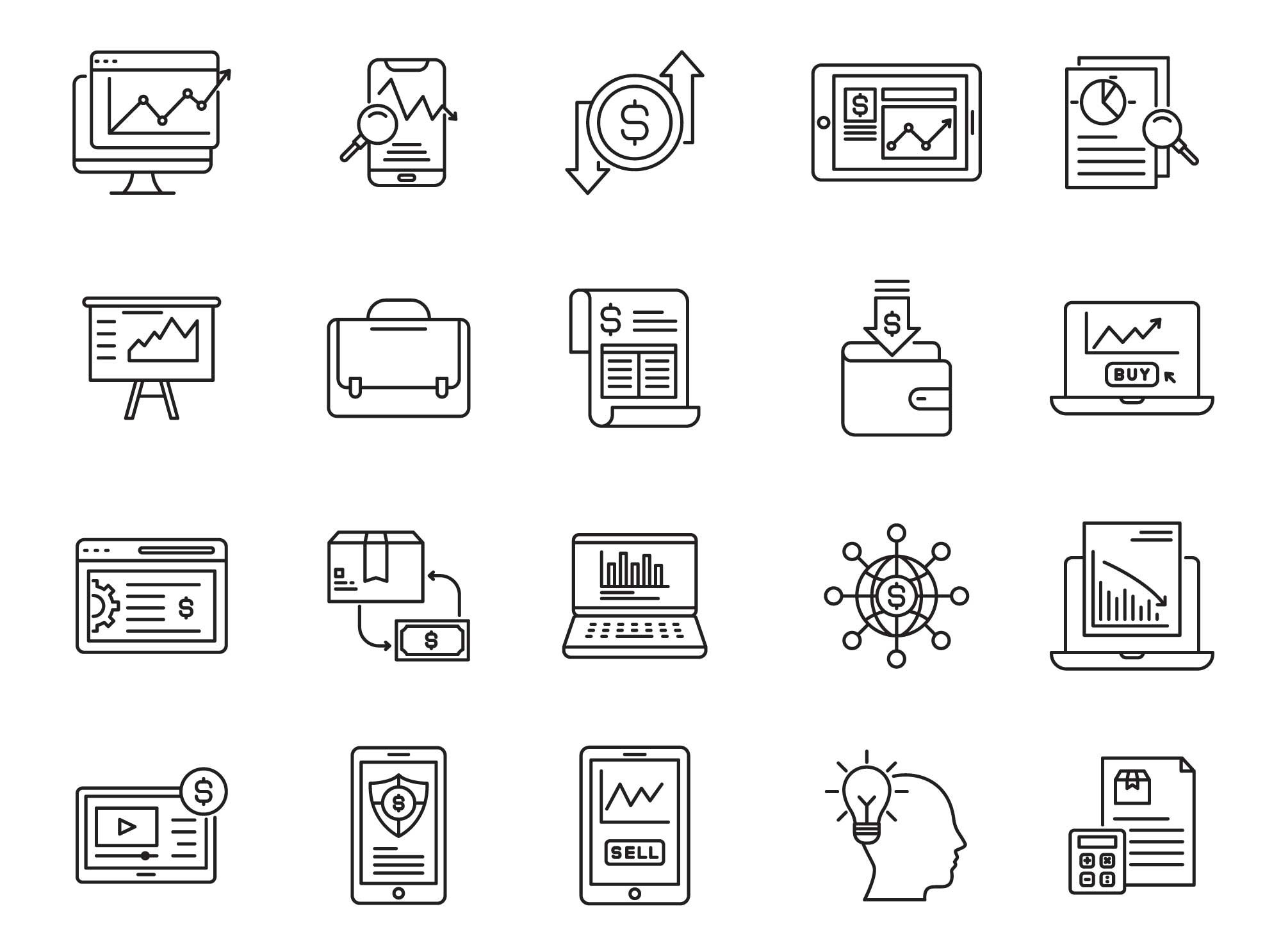 Trade Vector Icons Part 03