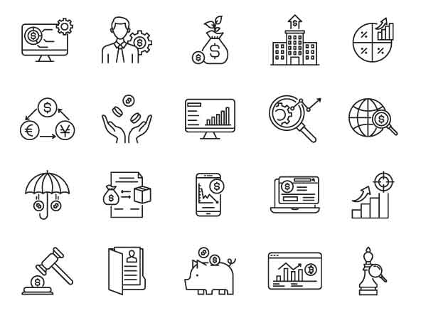 Trade Vector Icons Part 04